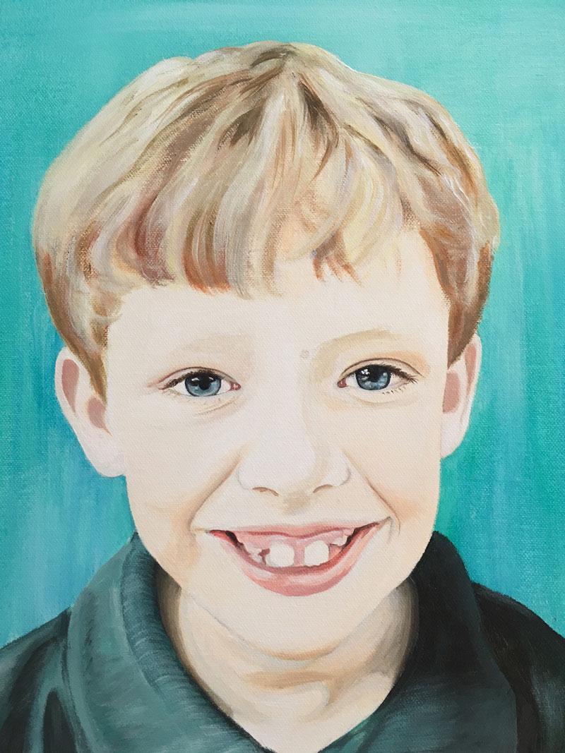 Lisa Valks Boy Portrait